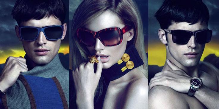 Модные очки 2012 года Versace