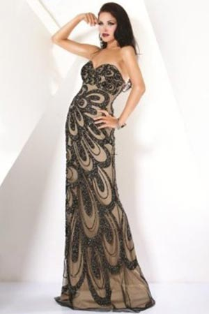 Выпускные платья 2012 - 12