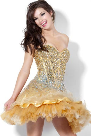 Выпускные платья 2012 - 32