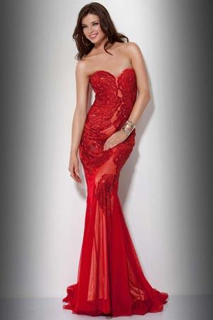 Выпускные платья 2012 - 2