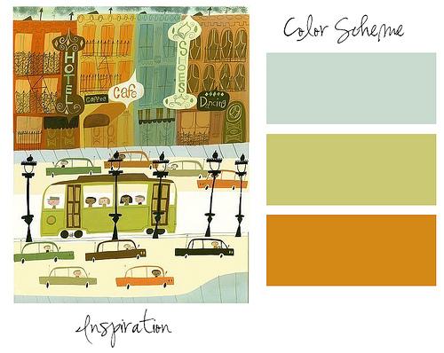 Цветовые схемы 37