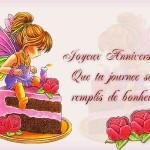 Поздравления с днем рождения на французском
