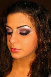 Вечерний макияж 33