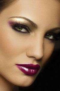 Вечерний макияж 13