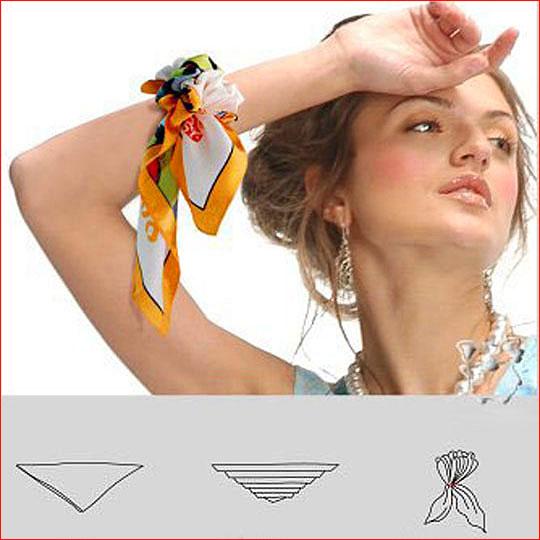Как завязать шарф 10