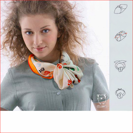 Как завязать шарф 12