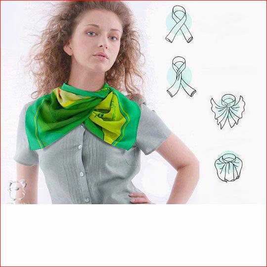 Как завязать шарф 13