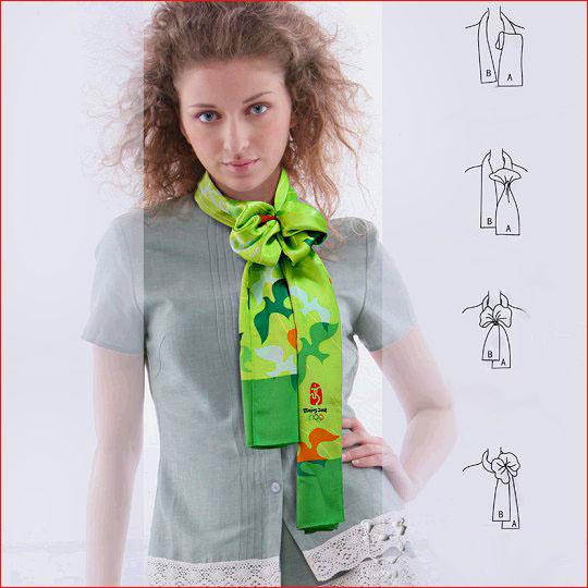 Как завязать шарф 2