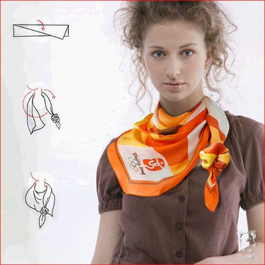 Как завязать шарф 6