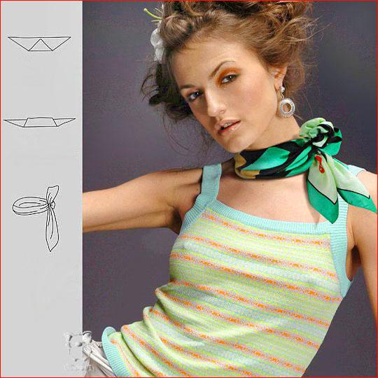 Как завязать шарф 7