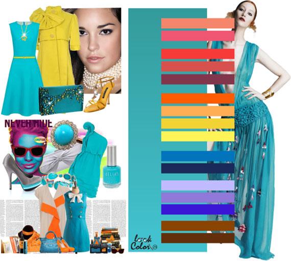 Как сочетать цвета в одежде - фото 17