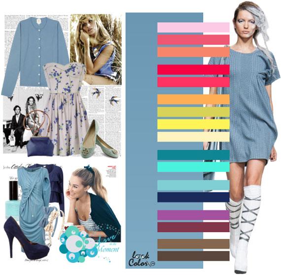 Как сочетать цвета в одежде - фото 18