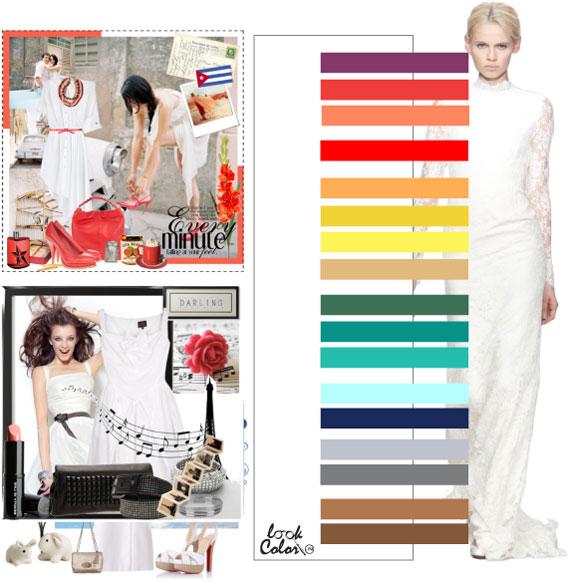 Как сочетать цвета в одежде - фото 19
