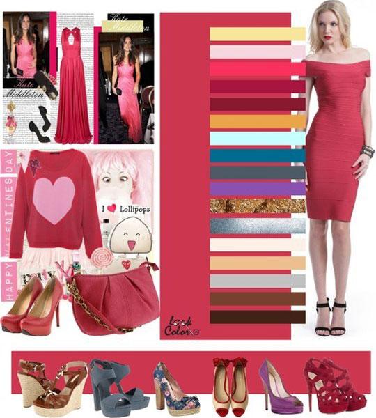 Cочетание цвета в одежде