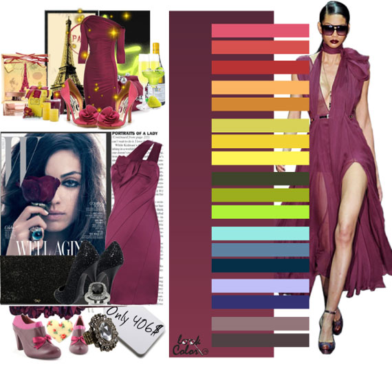 Как сочетать цвета в одежде - фото 22