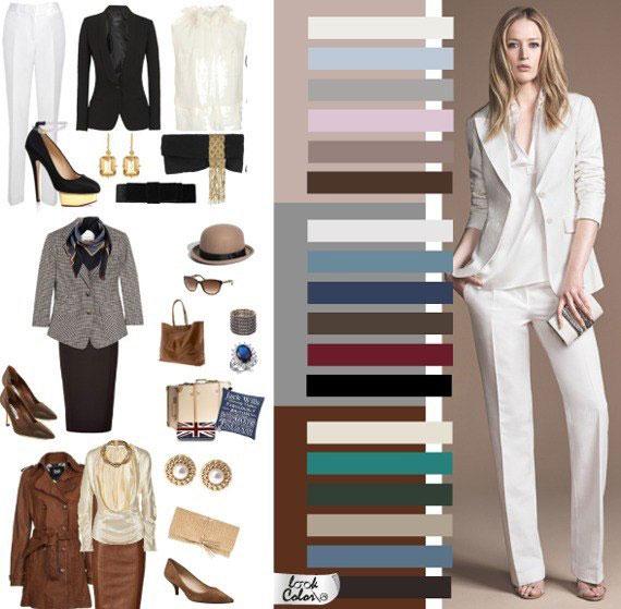 Как сочетать цвета в одежде - фото 3