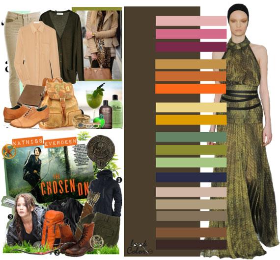 Как сочетать цвета в одежде - фото 31