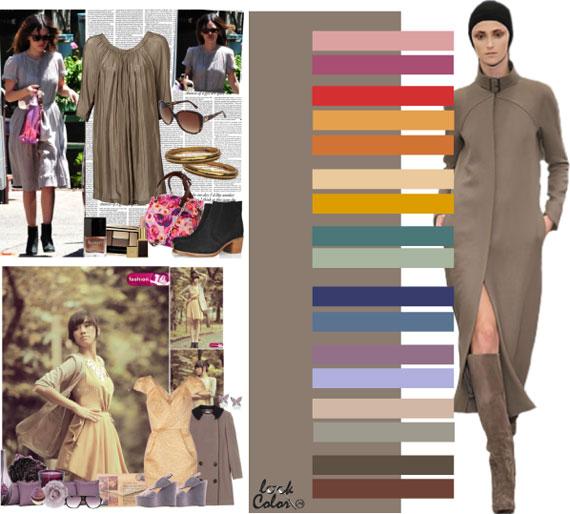 Как сочетать цвета в одежде - фото 33