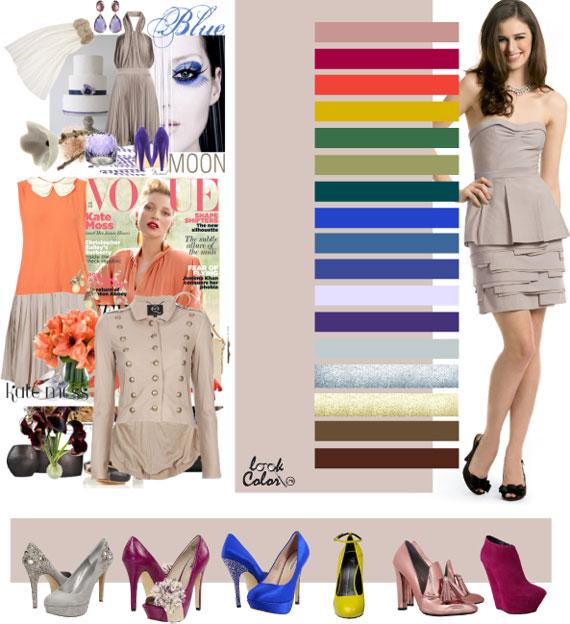 Как сочетать цвета в одежде - фото 38