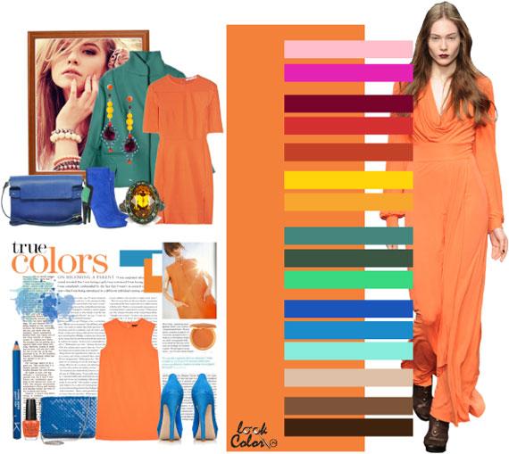 Как сочетать цвета в одежде - фото 39