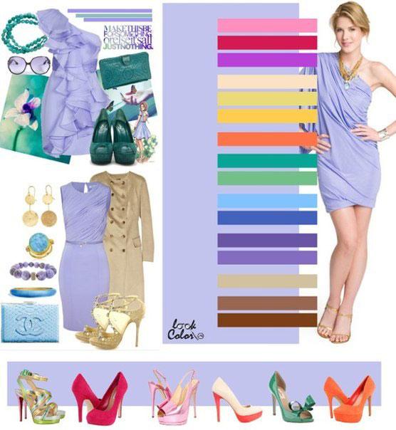 Как сочетать цвета в одежде - фото 4