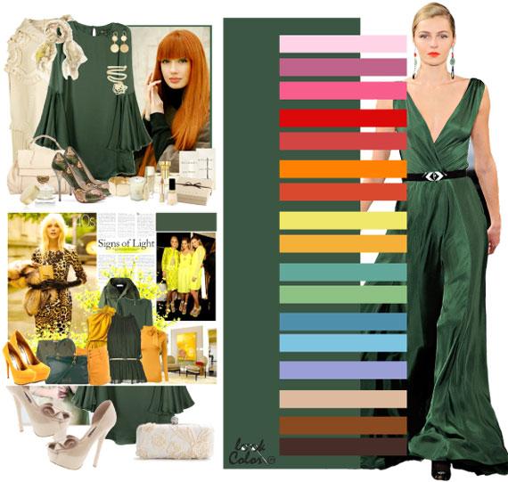 Как сочетать цвета в одежде - фото 40
