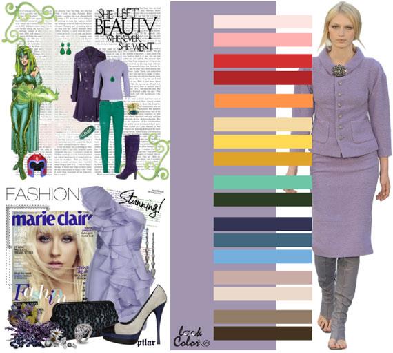 Как сочетать цвета в одежде - фото 42