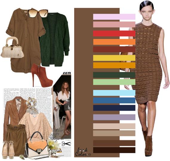 Как сочетать цвета в одежде - фото 43