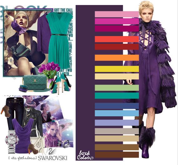 Как сочетать цвета в одежде - фото 44