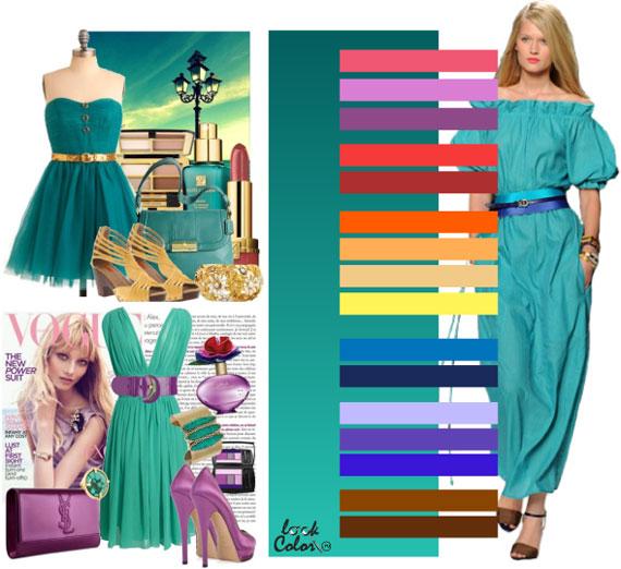 Как сочетать цвета в одежде - фото 45