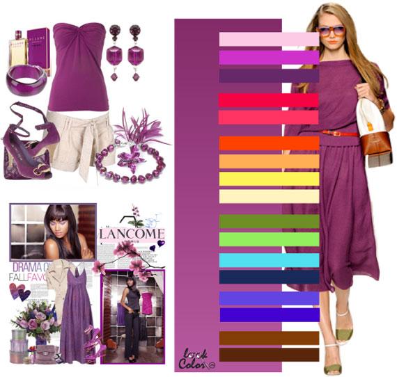 Как сочетать цвета в одежде - фото 46