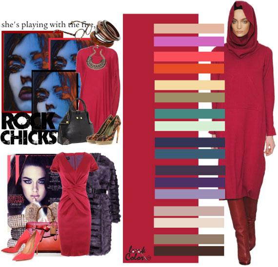 Как сочетать цвета в одежде - фото 49