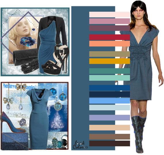 Как сочетать цвета в одежде - фото 52