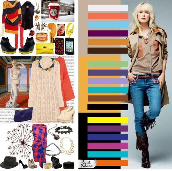 Как сочетать цвета в одежде - фото 8