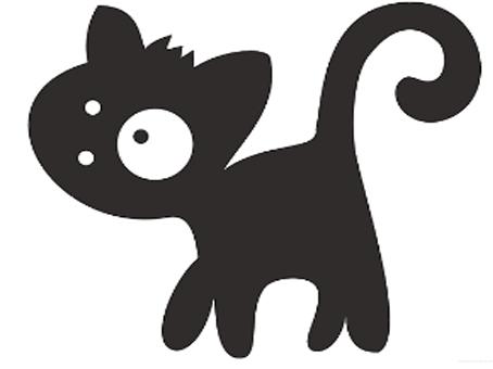 Трафареты кошки - фото 19