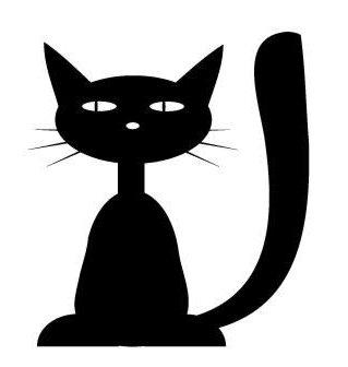 Трафареты кошки - фото 22