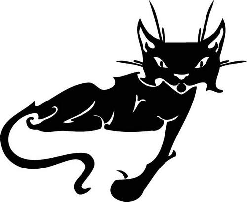 Трафареты кошки - фото 15