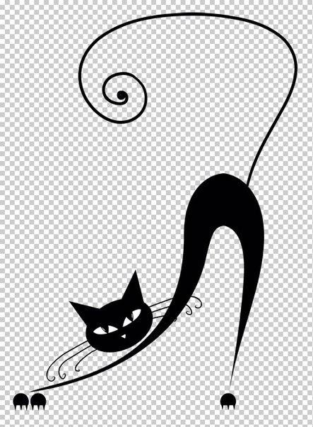 Трафареты кошки - фото 2