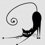 Трафареты кошки