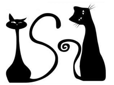Трафареты кошки - фото 12