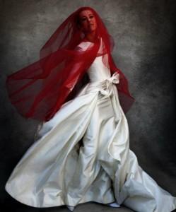 Ксения Собчак для фотосессии Harper's Bazaar