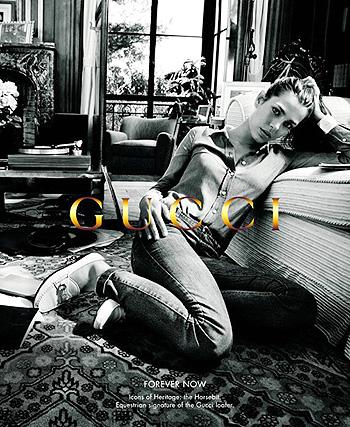 Шарлотта Казираги в рекламе Gucci - фото 2