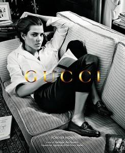 Шарлотта Казираги в рекламе Gucci