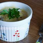 Яичница с помидорами и курицей в духовке