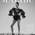 Зои Салдана в фотосессии Malibu Magazine