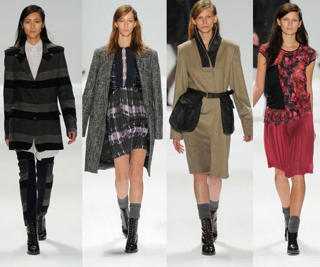 Мода осень 2012 - фото 13