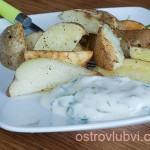 Картошка в духовке (по сельски)