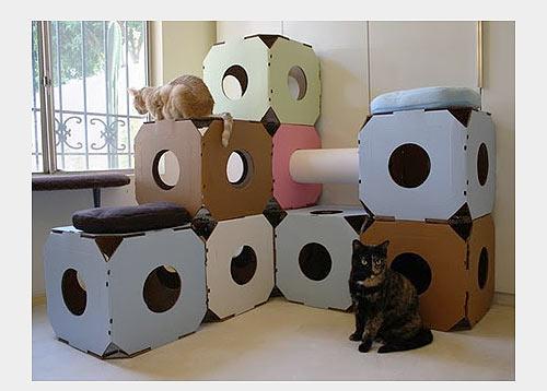 Домики для кошек - фото 27
