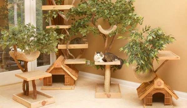 Домики для кошек - фото 1