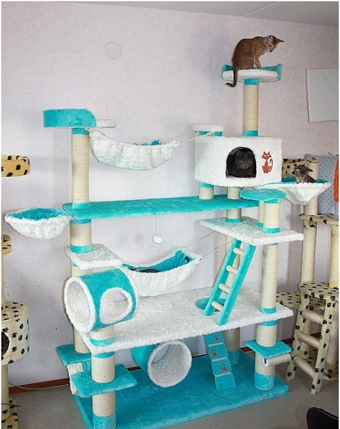 Домики для кошек - фото 22